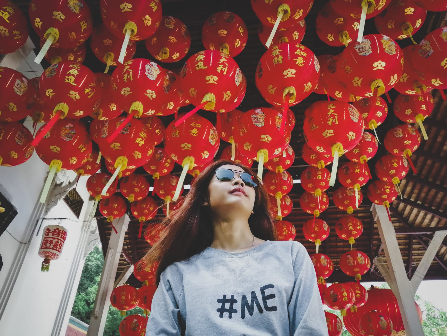 Women with #me shirt