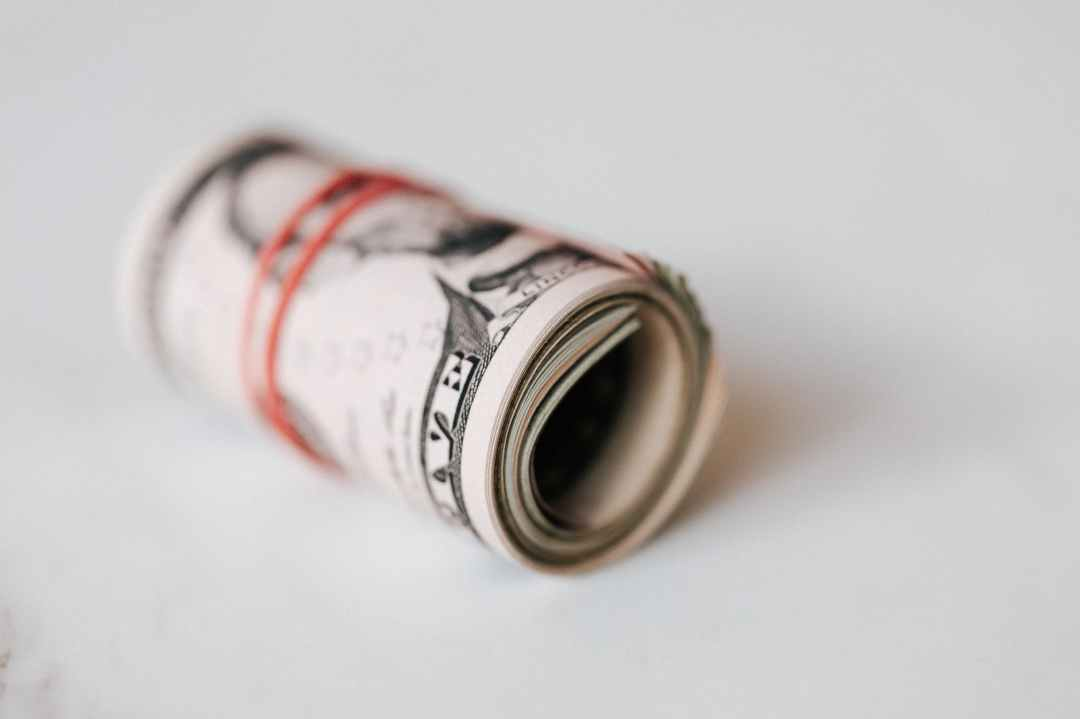 A roll of cash.